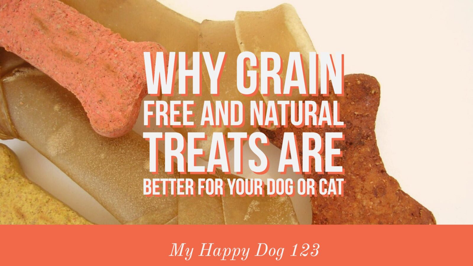 Why Grain Free and Natural Treats are Better For Your Dog or Cat